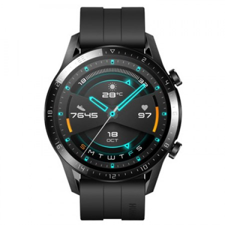Huawei Watch GT 2 -46mm Black -Sport Edition Price Dubai
