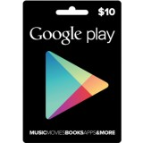 Google Play Gift card -10 US$