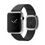 MJYM2 Apple Watch -38mm Stainless Steel Case with Black Modern Buckle