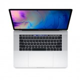 "MacBook Pro 2019 15"" Touch Bar and Touch ID 512GB/16GB RAM  9th Gen Core i9 -MV932 Silver -English"