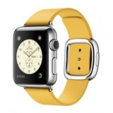 Apple Watch  38mm Stainless Steel Case with Marigold Modern Buckle - MMFG2