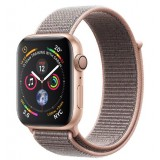 Apple Watch Series 4 GPS 40mm Gold Aluminum Case with Pink Sand Sport Loop -MU692AE