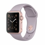 Apple Watch Sport -42mm Rose Gold Aluminum Case with Stone Sport Band -MLC62