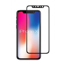 3D Curved Tempered Glass Screen Protector (Full coverage) for iPhone X