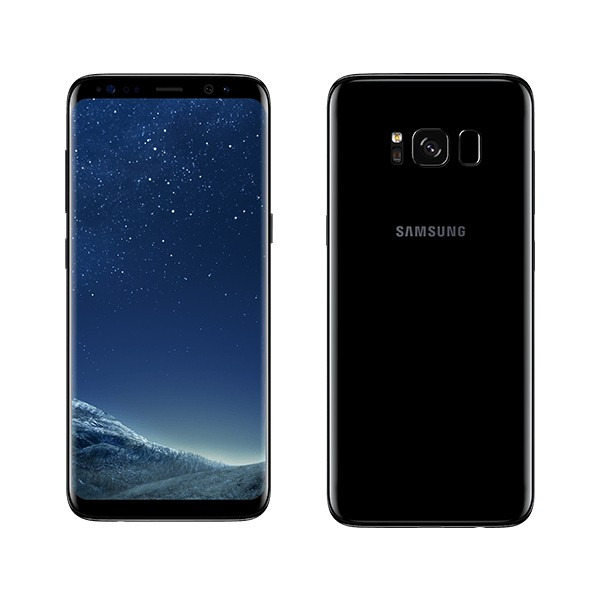 Samsung Galaxy S8 -64GB Dual Sim -Midnight Black SM-G950FD