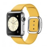 Apple 38mm Stainless Steel Case with Marigold Modern Buckle - Small Size Band - MMFD2