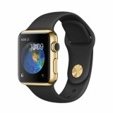 Apple Watch Edition -42mm 18-Karat Yellow Gold Case with Black Sport Band