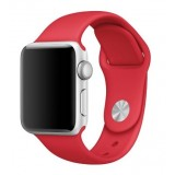 Apple 38mm Stainless Steel Case with -PRODUCT RED Sport Band -MLLD2