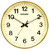 Sonashi Wall Clock (White & Ivory Color)