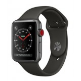 Apple Watch Series 3 (GPS + Cellular) -42mm Space Gray Aluminum Case with Gray Sport Band-MR2X2