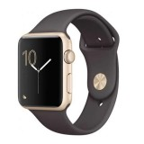Apple Watch Series 2 42mm -Gold Aluminium Case with Cocoa Sport Band -MNPN2