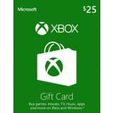 $25 Xbox Live Gift Card