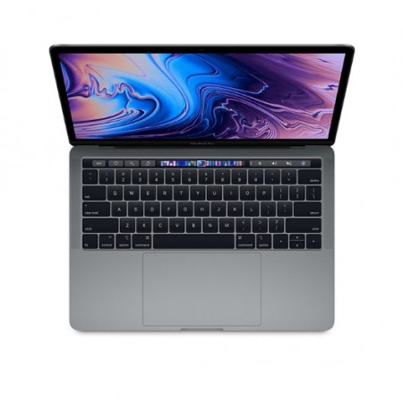"""MacBook Pro 2019 13"""" Touch Bar and Touch ID 2.4GHz 8th Gen Core i5 256GB/8GB RAM -MV962 -English"""