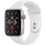 Apple Watch Series 5 GPS + Cellular -44mm Silver Aluminum Case MWWC2 Dubai