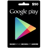 Google Play Gift card -50 US$