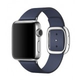 MJ352 Apple watch - 38mm Stainless Steel Case with Midnight Blue Modern Buckle