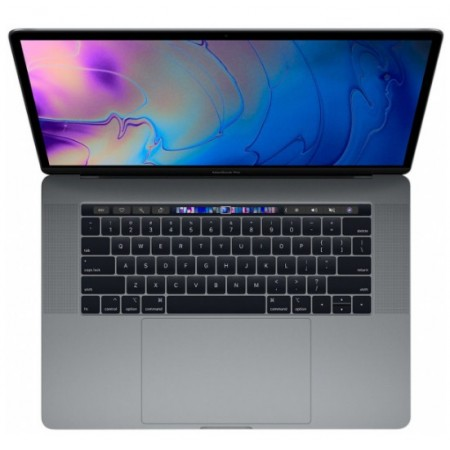 "MacBook Pro 2019 15"" Touch Bar and Touch ID,512GB/16GB RAM, 9th Gen Core i9 -MV912 Space Gray -English"