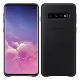 Leather Back Cover for Galaxy S10