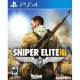 PS4 game sniper Elite