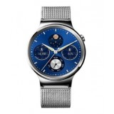 Huawei Watch -Stainless Steel with Stainless Steel Mesh Band
