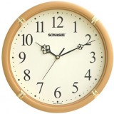 Sonashi Wall Clock (Golden & Brown Color)