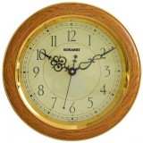 Sonashi Wall Clock (Dark Wood & Light Wood Color)