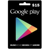 Google Play Gift card -15 US$