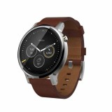 Moto 360 2nd Gen SmartWatch 46mm - Cognac Leather