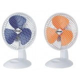 "Sonashi 7"" Clip Fan  (Blue & Orange)"