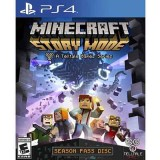 Minecraft Story Mode Season Disc For PS4