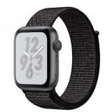 Apple Watch Nike+ Series 4 GPS 40mm Space Gray Aluminum Case with Black Nike Sport Loop -MU7G2AE