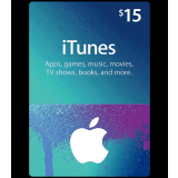 iTunes Gift Card -15$  For US Apple Store