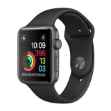 Apple Watch Series 2 -42MM Space Grey Aluminium Case with Black Sport Band -MP062