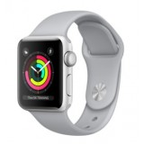 Apple Watch Series 3 (GPS) -38mm Silver Aluminum Case with Fog Sport Band-MQKU2